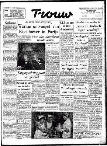 Trouw / De Rotterdammer 1959-09-02
