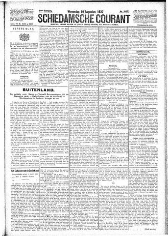 Schiedamsche Courant 1927-08-10