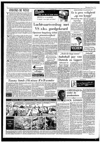 Rotterdamsch Parool / De Schiedammer 1957-05-15