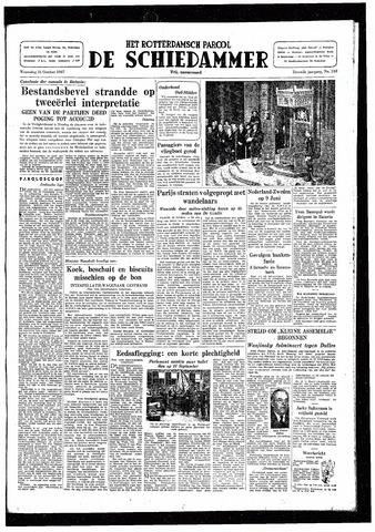 Rotterdamsch Parool / De Schiedammer 1947-10-15