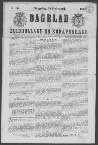 Dagblad van Zuid-Holland 1860-02-28