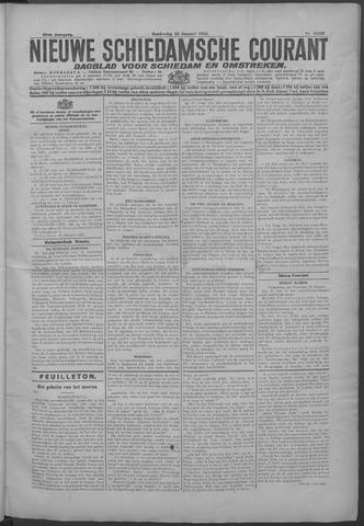 Nieuwe Schiedamsche Courant 1925-01-22