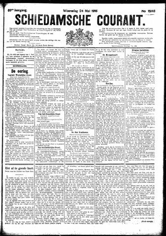 Schiedamsche Courant 1916-05-24