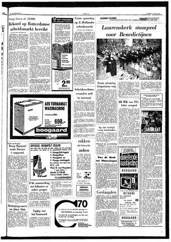 Trouw / De Rotterdammer 1970-06-09