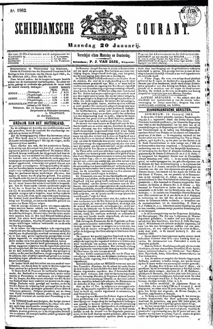 Schiedamsche Courant 1862-01-20