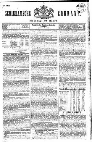 Schiedamsche Courant 1862-03-10
