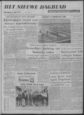 Nieuwe Schiedamsche Courant 1961-07-06