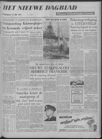 Nieuwe Schiedamsche Courant 1961-05-17