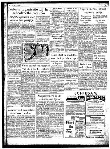 Rotterdamsch Parool / De Schiedammer 1962-04-25