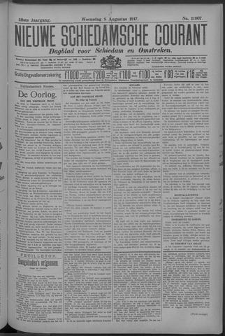 Nieuwe Schiedamsche Courant 1917-08-08