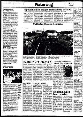 Rotterdamsch Nieuwsblad / Schiedamsche Courant / Rotterdams Dagblad / Waterweg / Algemeen Dagblad 1991-06-21