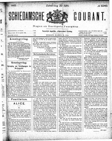 Schiedamsche Courant 1885-06-20
