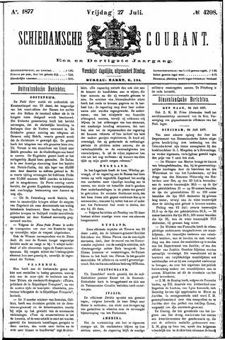 Schiedamsche Courant 1877-07-27