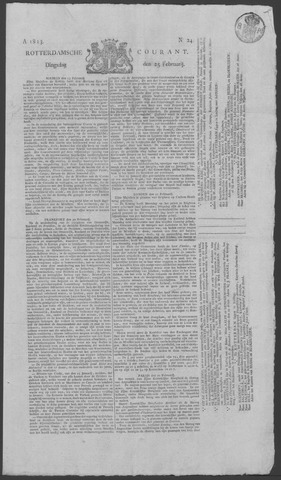 Rotterdamse Courant 1823-02-25