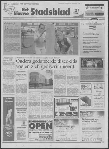 Het Nieuwe Stadsblad 2002-04-25