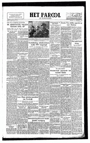 Rotterdamsch Parool / De Schiedammer 1946-12-13