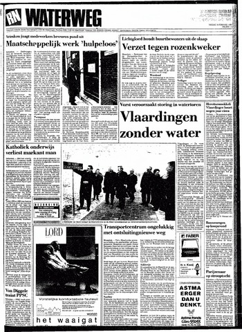 Rotterdamsch Nieuwsblad / Schiedamsche Courant / Rotterdams Dagblad / Waterweg / Algemeen Dagblad 1991-02-08