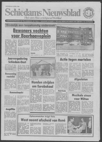 Schiedams Nieuwsblad 1984-04-04