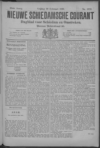 Nieuwe Schiedamsche Courant 1897-02-19