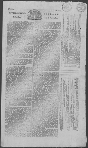 Rotterdamse Courant 1836-11-05