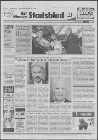Het Nieuwe Stadsblad 2001-02-21