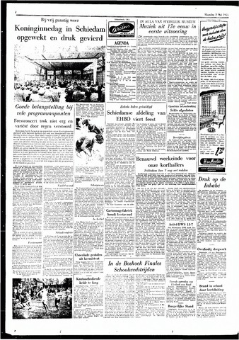 Rotterdamsch Parool / De Schiedammer 1955-05-02