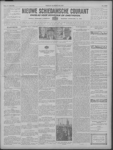 Nieuwe Schiedamsche Courant 1933-02-24