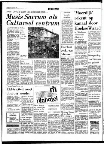 Rotterdamsch Parool / De Schiedammer 1968-12-05