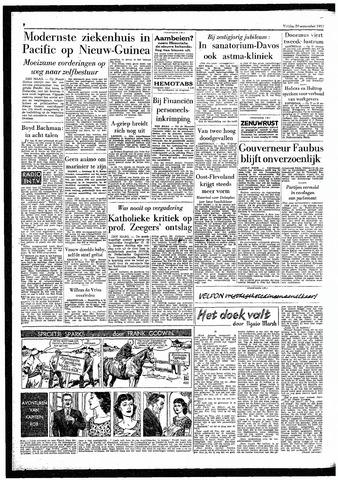 Rotterdamsch Parool / De Schiedammer 1957-09-20