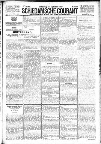 Schiedamsche Courant 1927-09-15