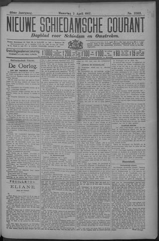 Nieuwe Schiedamsche Courant 1917-04-02