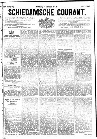 Schiedamsche Courant 1908-01-14