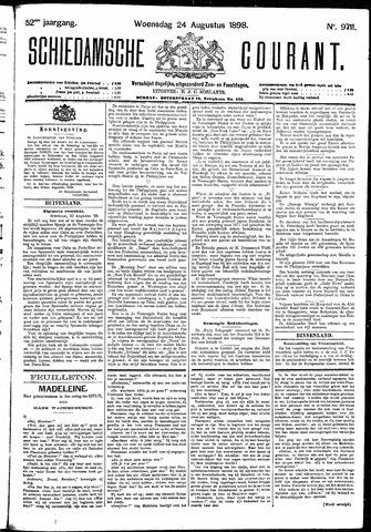 Schiedamsche Courant 1898-08-24