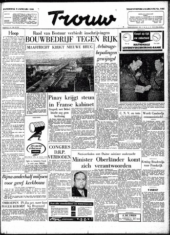 Trouw / De Rotterdammer 1960-01-09