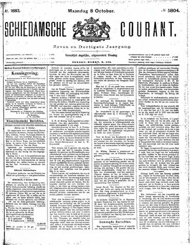 Schiedamsche Courant 1883-10-08
