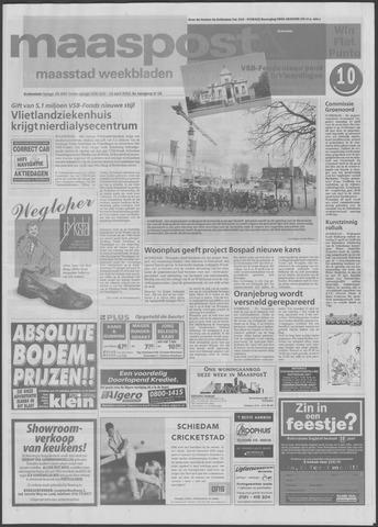 Maaspost / Maasstad / Maasstad Pers 2001-04-18