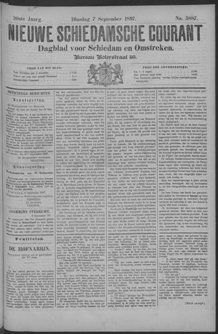Nieuwe Schiedamsche Courant 1897-09-07