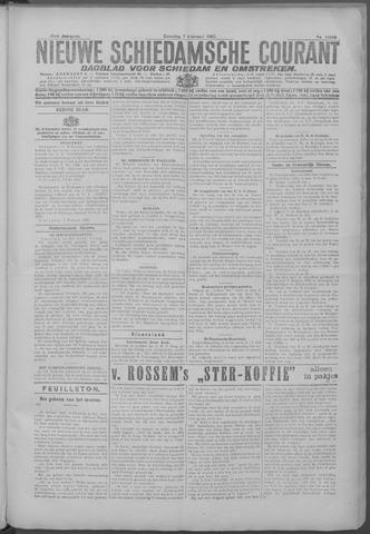 Nieuwe Schiedamsche Courant 1925-02-07