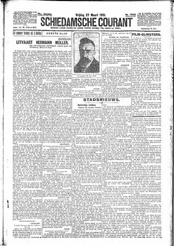 Schiedamsche Courant 1931-03-27