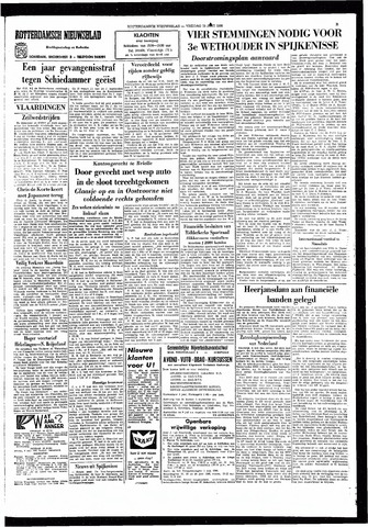 Rotterdamsch Nieuwsblad / Schiedamsche Courant / Rotterdams Dagblad / Waterweg / Algemeen Dagblad 1966-06-10