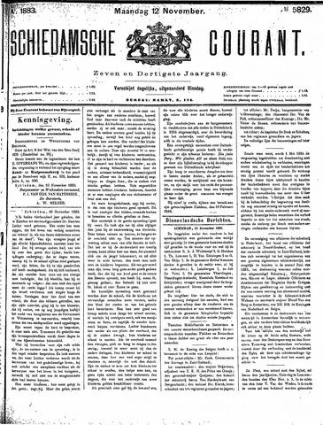 Schiedamsche Courant 1883-11-12