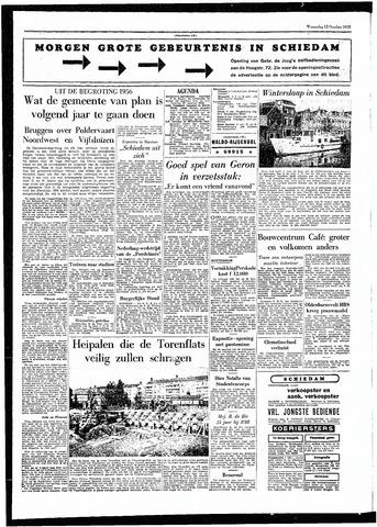 Rotterdamsch Parool / De Schiedammer 1955-10-12