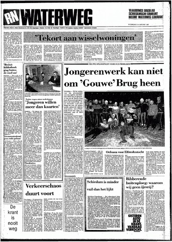 Rotterdamsch Nieuwsblad / Schiedamsche Courant / Rotterdams Dagblad / Waterweg / Algemeen Dagblad 1987-01-14