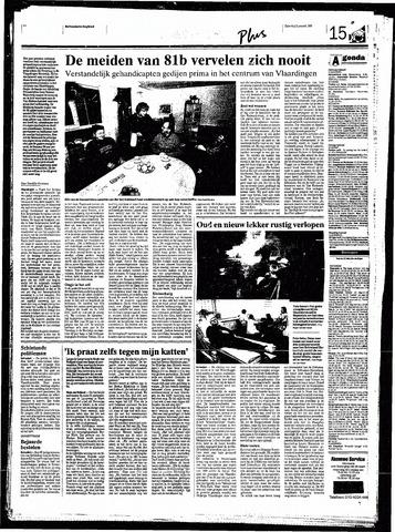 Rotterdamsch Nieuwsblad / Schiedamsche Courant / Rotterdams Dagblad / Waterweg / Algemeen Dagblad 1999