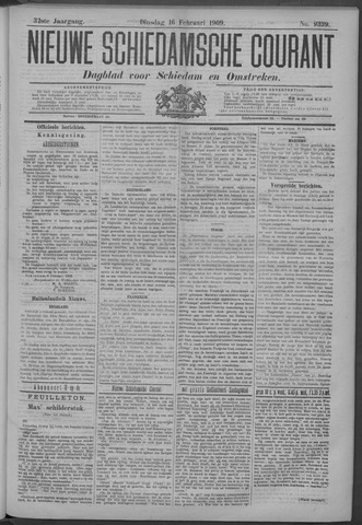 Nieuwe Schiedamsche Courant 1909-02-16