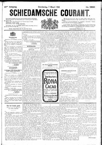 Schiedamsche Courant 1912-03-07