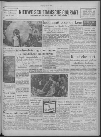 Nieuwe Schiedamsche Courant 1958-03-07