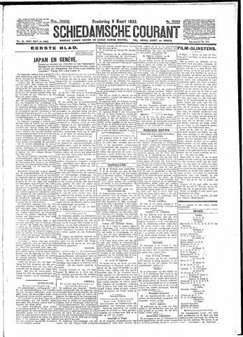 Schiedamsche Courant 1933-03-09