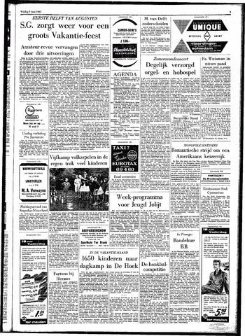 Rotterdamsch Parool / De Schiedammer 1961-06-09