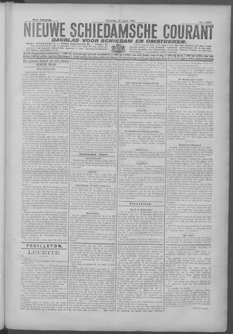 Nieuwe Schiedamsche Courant 1925-04-25